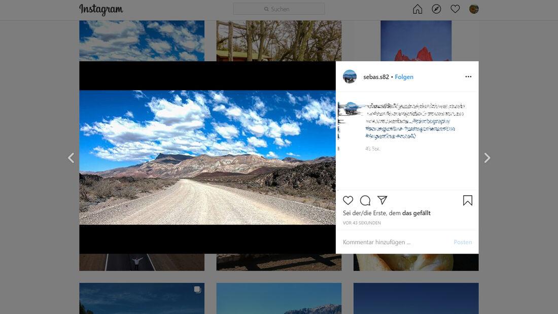 Instagram Ruta 40