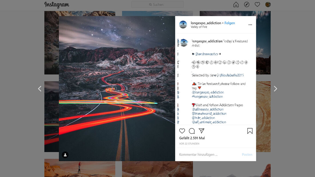 Instagram Valley of Fire