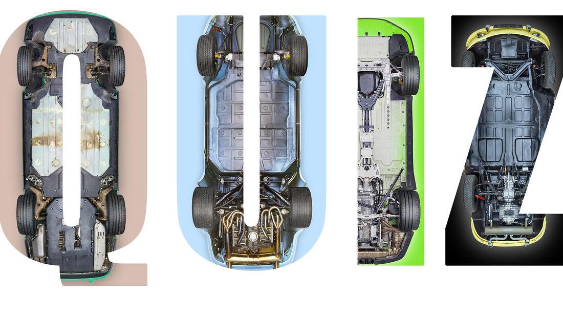 Interaktives Quiz Aufmacher Porsche Unterboden