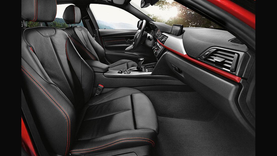 Interieur BMW 3er Limousine 2012
