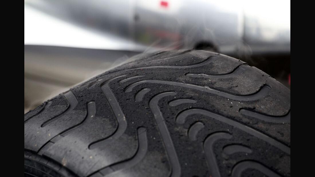 Intermediate-Reifen - Formel 1 - GP Belgien - Spa-Francorchamps - 24. August