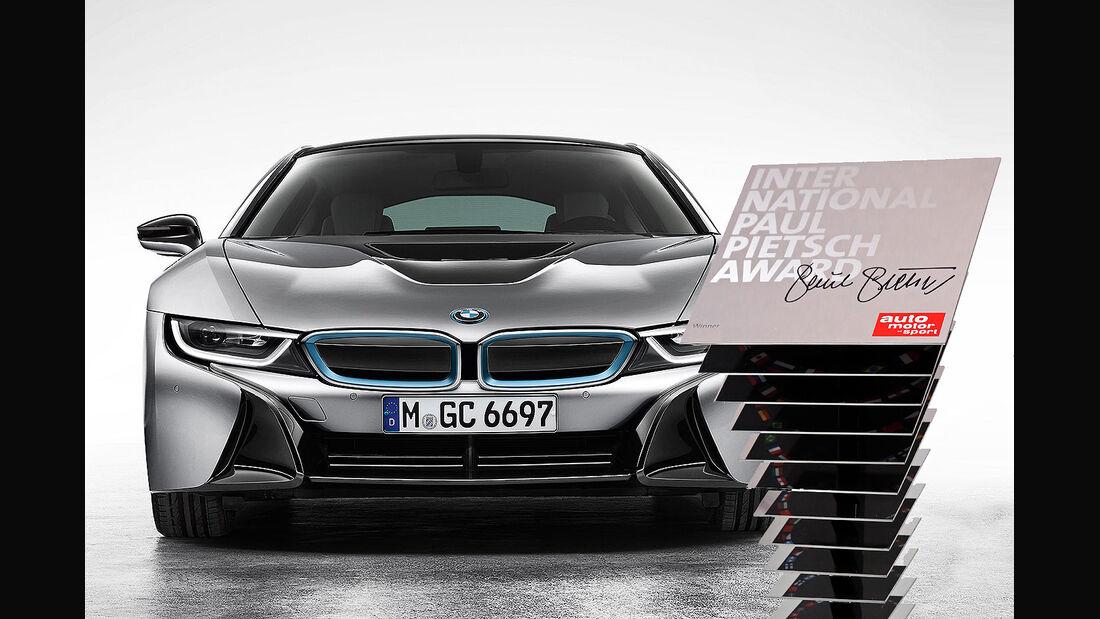International Paul Pietsch Award 2015 BMW i8