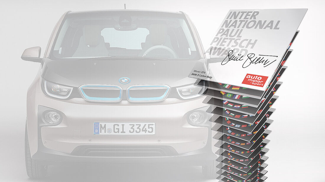 International Paul Pietsch Preis 2014 BMW i3
