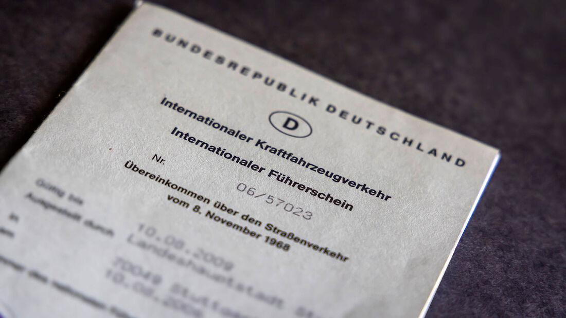 Internationaler Führerschein