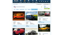 Internetportal Motory, Gruppen, Autos