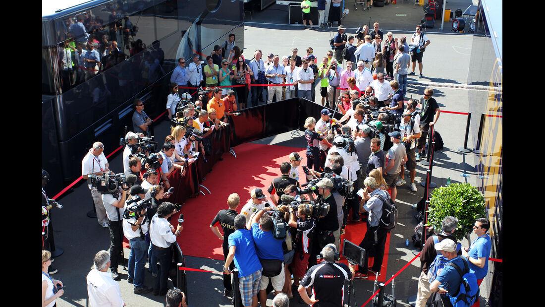 Interviews - Formel 1 - GP Deutschland 2013