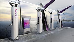 Ionity LadesŠule Elektroauto