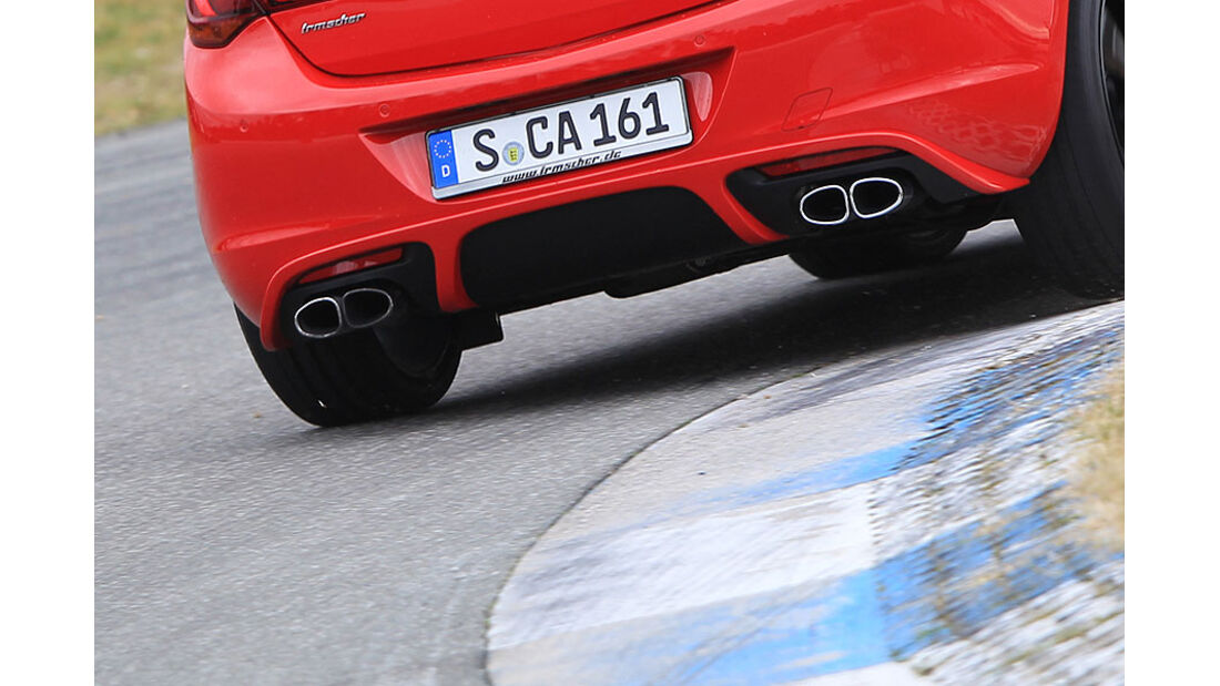 Irmscher Opel Astra Auspuff