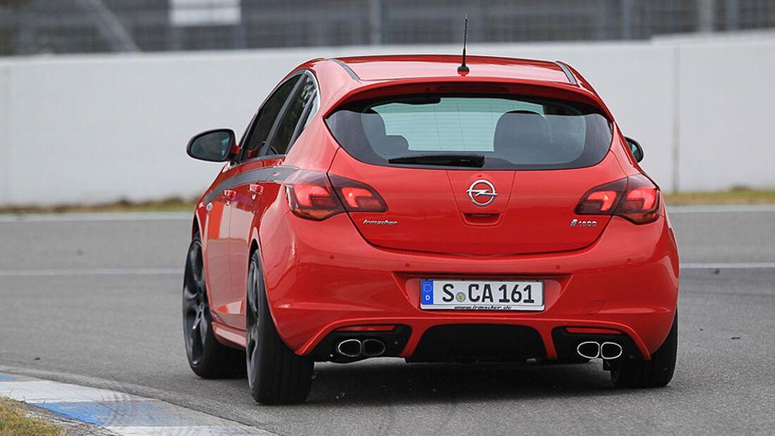 Irmscher Opel Astra Heck