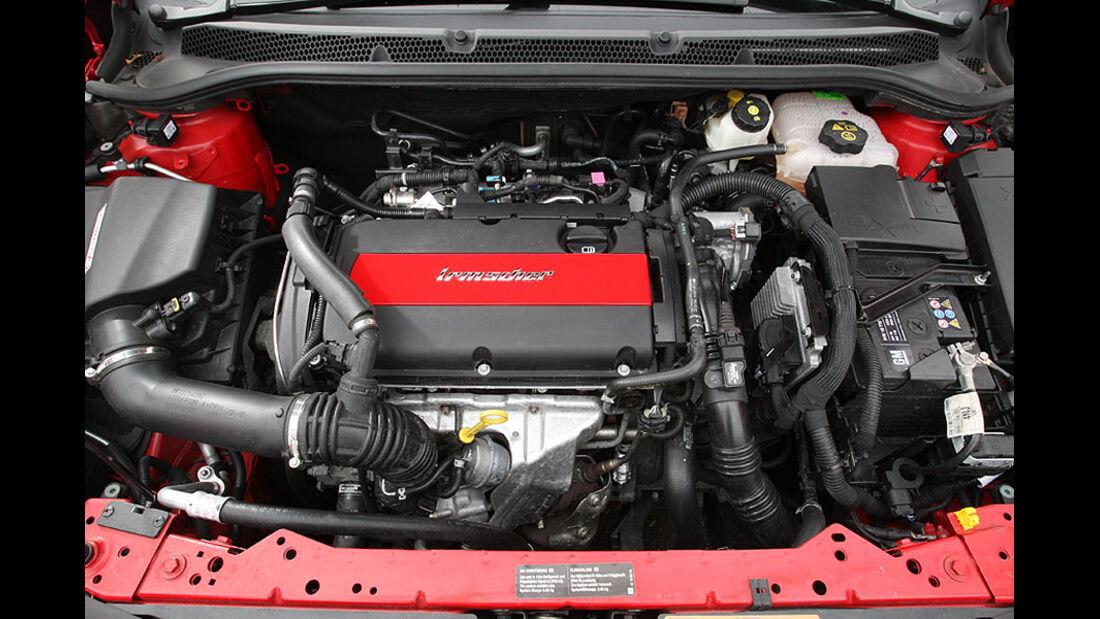 Irmscher Opel Astra Motorraum