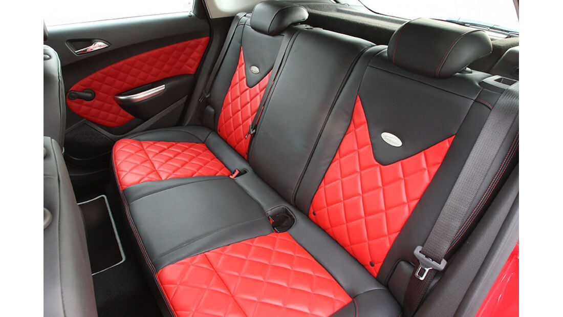 Irmscher Opel Astra Sitze