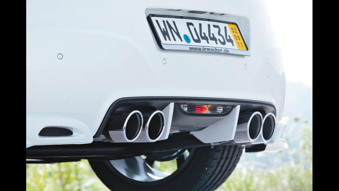 Irmscher Peugeot RCZ, Auspuff