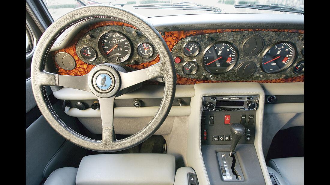 Isdera Autobahnkurier 116i mit zwei Fünfliter-V8-Motoren aus der Mercedes S-Klasse