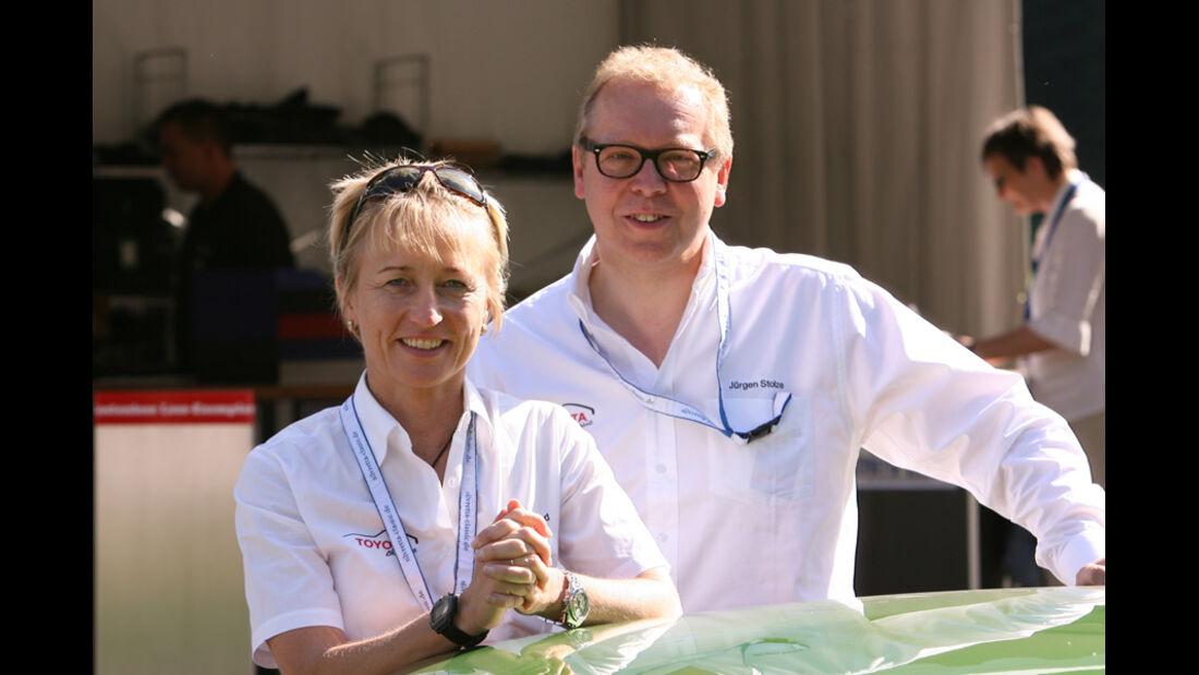 Isolde Holderied und Jürgen Stolze