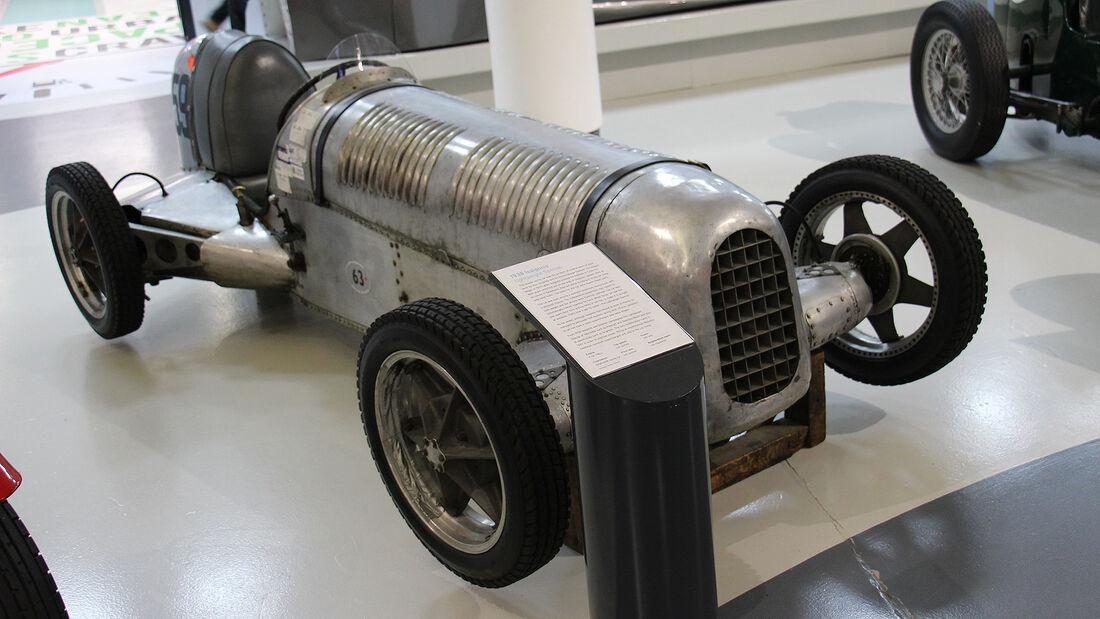 Issigonis Lightweight Special im British Motor Museum