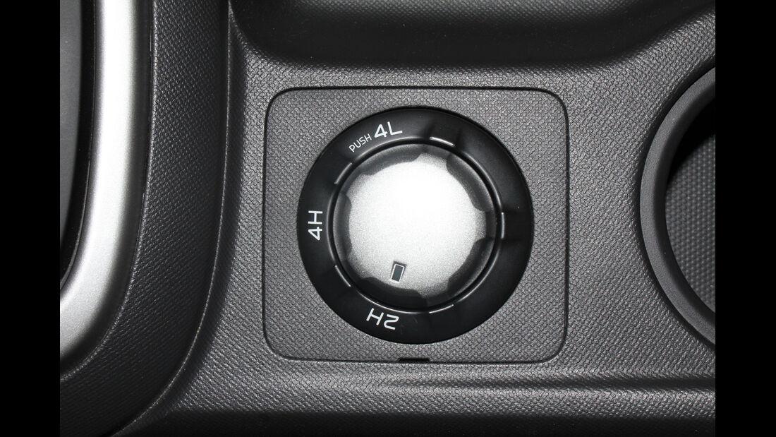 Isuzu D-Max 2,5l Double Cab 4WD, Allradzuschaltung
