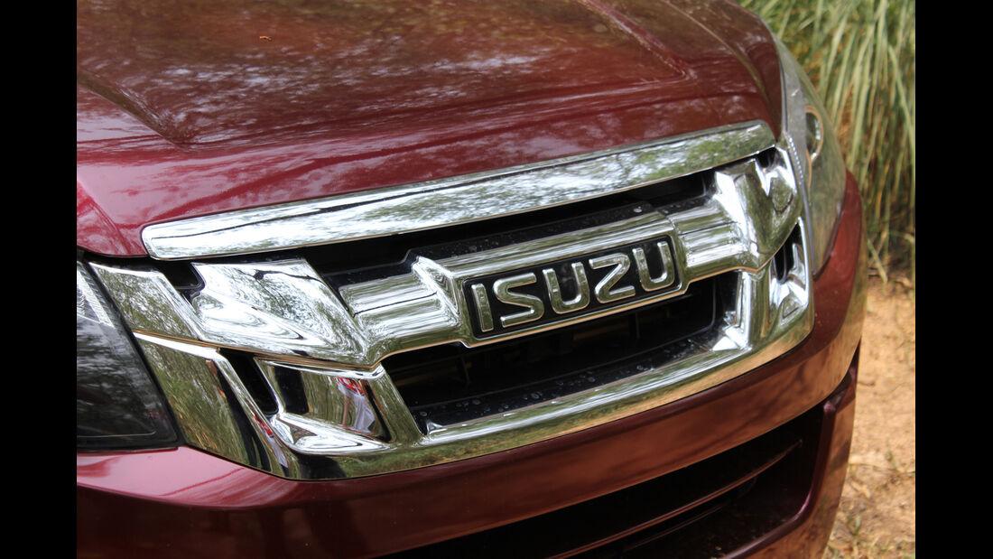 Isuzu D-Max 2,5l Double Cab 4WD, Kühlergrill