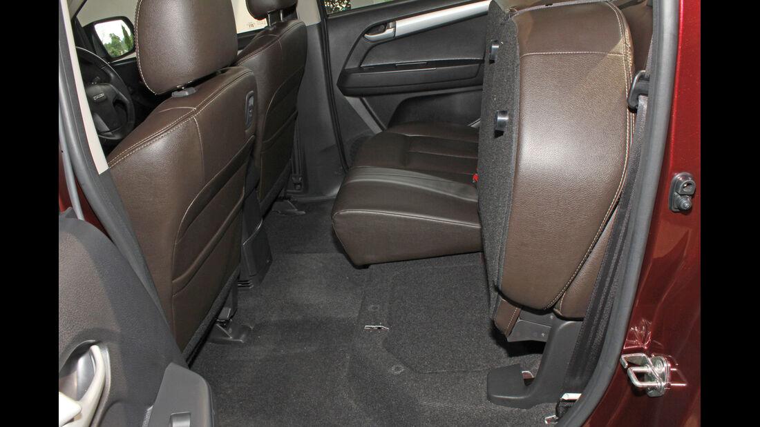 Isuzu D-Max 2,5l Double Cab 4WD, Rücksitz