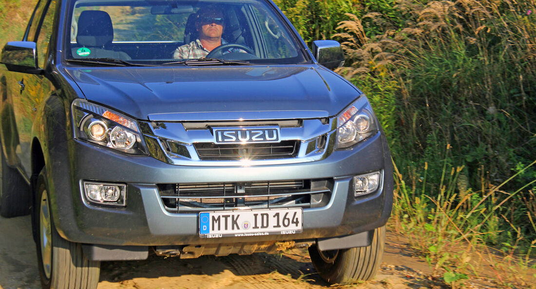 Isuzu D-Max Space Cab 2012 Test