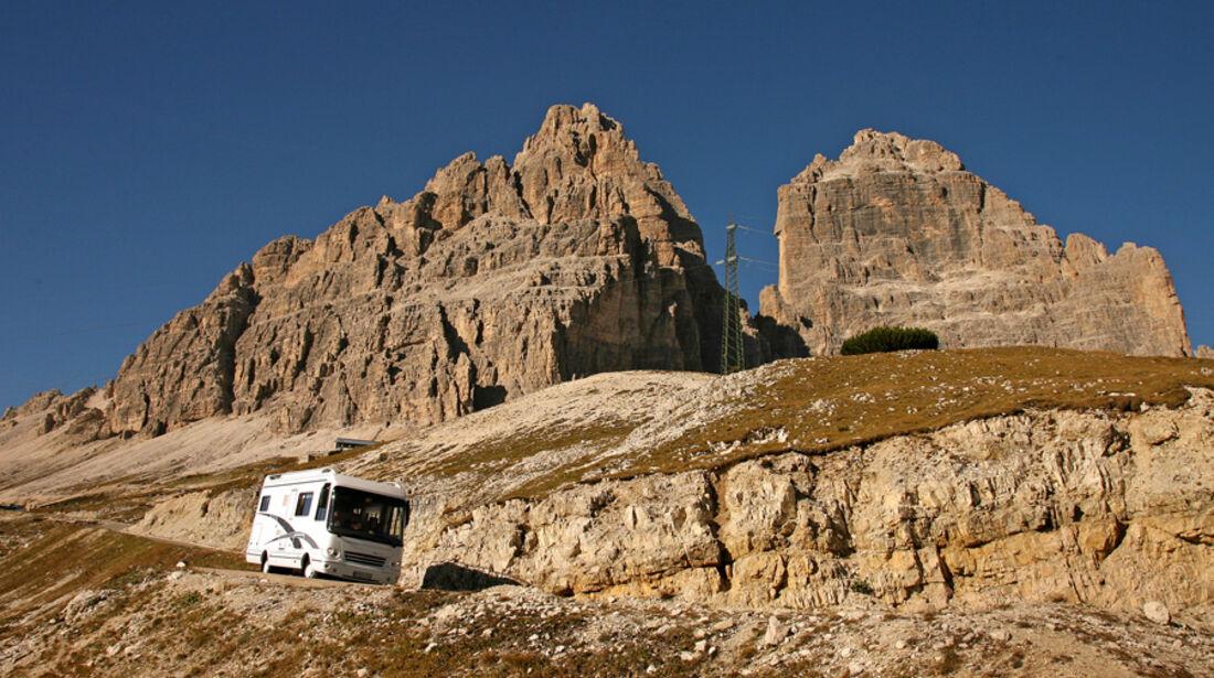 Italien: Im Luxus-Wohnmobil durch Südtirol
