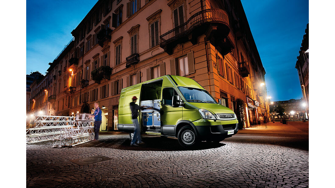Iveco Eco Daily Electric, Elektroauto, Elektro-Transporter