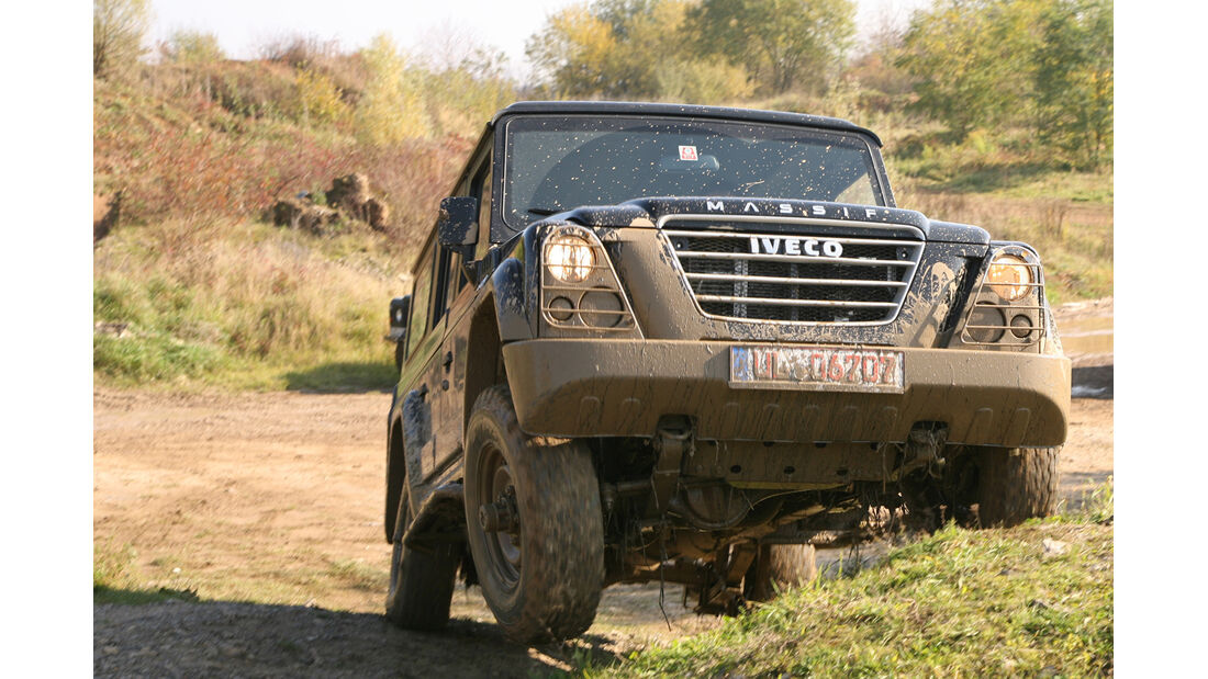 Iveco Massif 3.0 HPT, Frontansicht