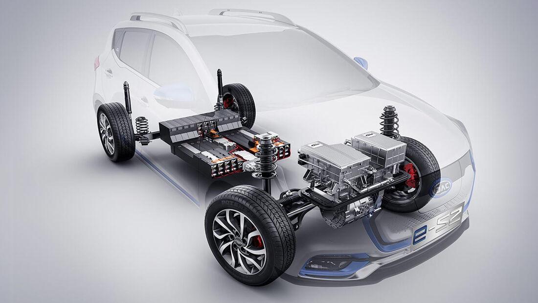 JAC E-S2 Elektroauto