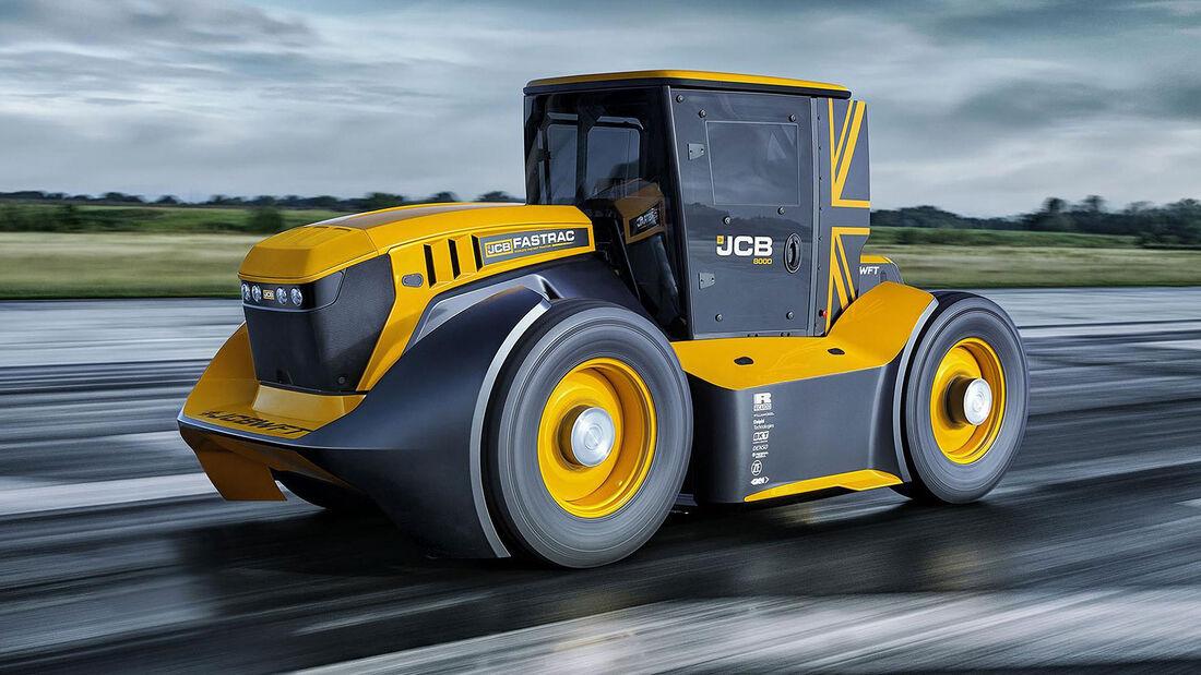 JCB Fastrac Rekordtraktor