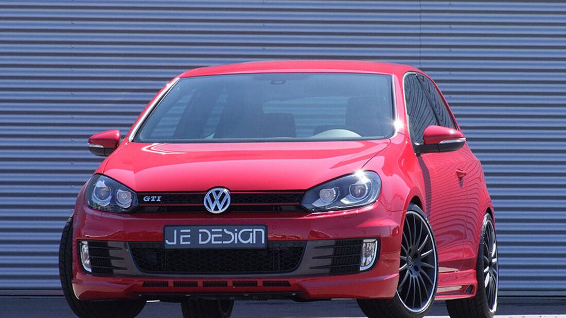 JE Design VW Golf GTI Front