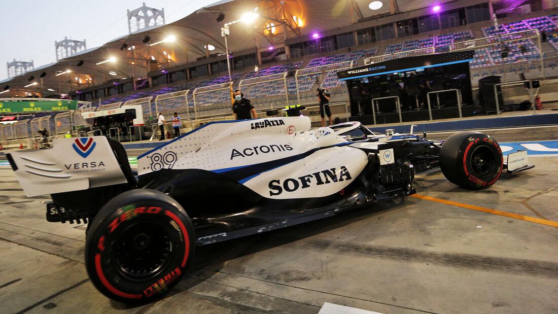 Jack Aitken - Williams - Formel 1 - GP Sakhir - Bahrain - Freitag - 4.12.2020