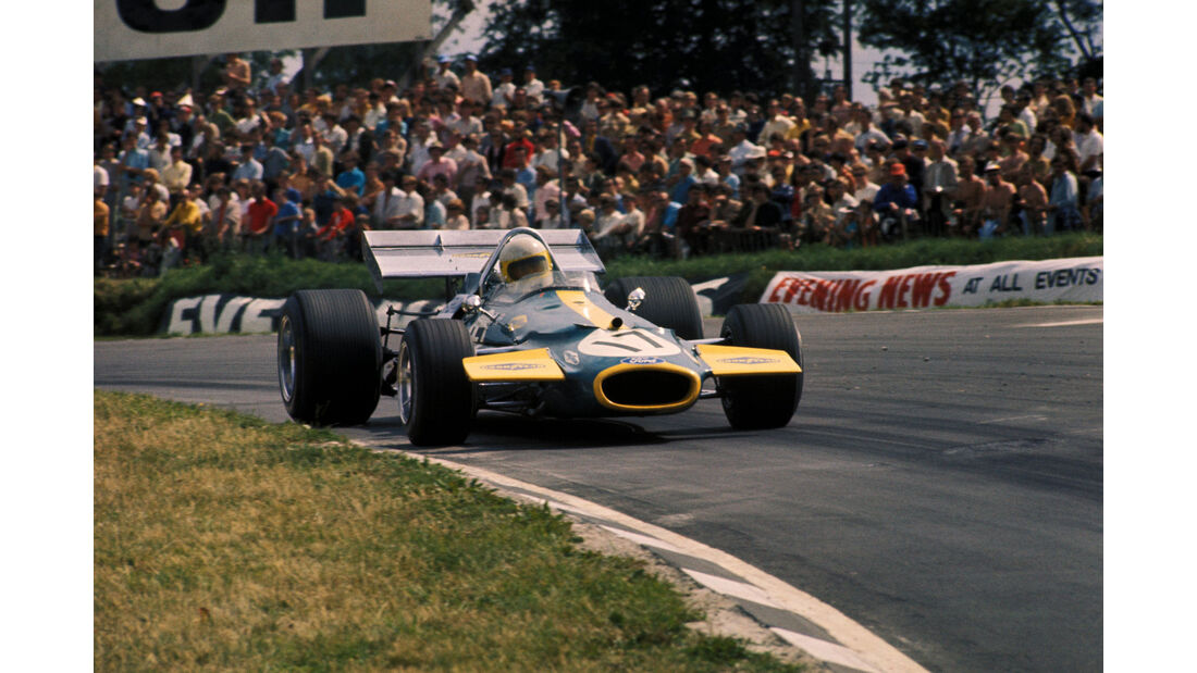 Jack Brabham - Brabham BT33 - GP England 1970 - Brands Hatch