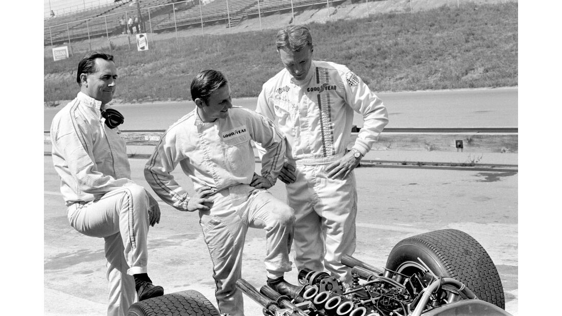 Jack Brabham - Bruce McLaren - Dan Gurney - Motorsport