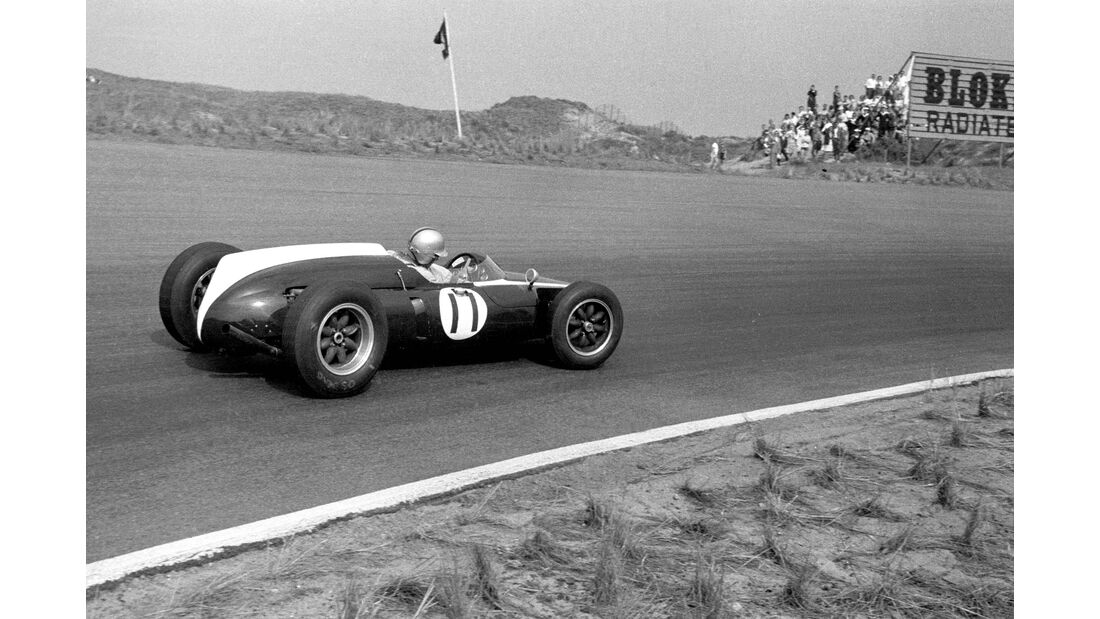 Jack Brabham - Cooper Climax T53 - GP Niederlande 1960 - Zandvoort