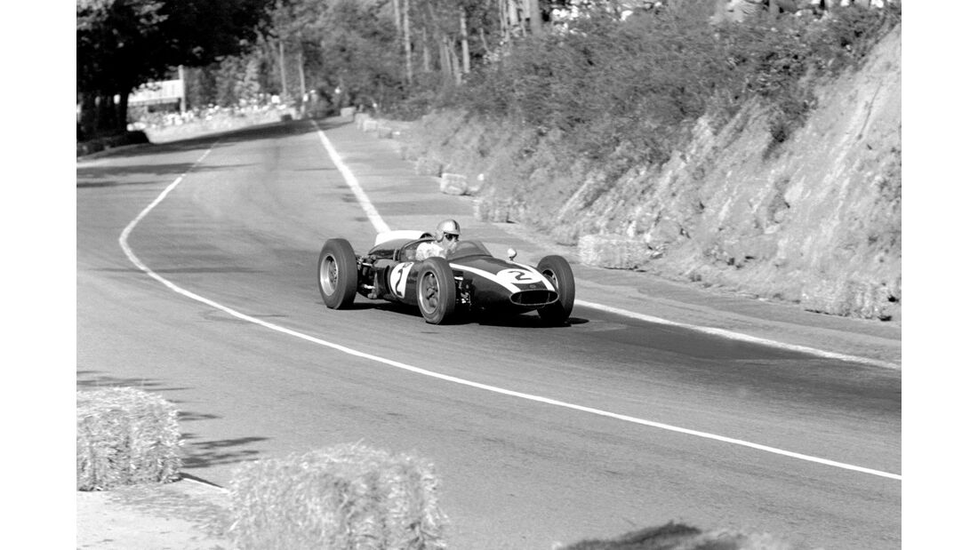 Jack Brabham - Cooper Climax T53 - GP Portugal 1960