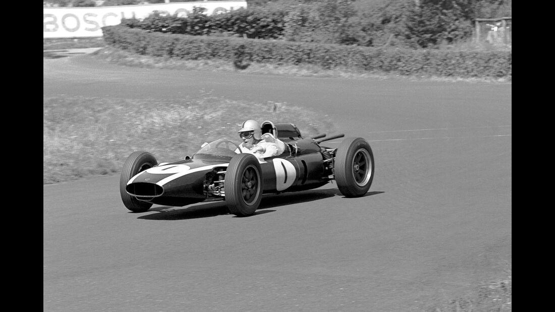 Jack Brabham - Cooper T58 - GP Deutschland 1961 - Nürburgring