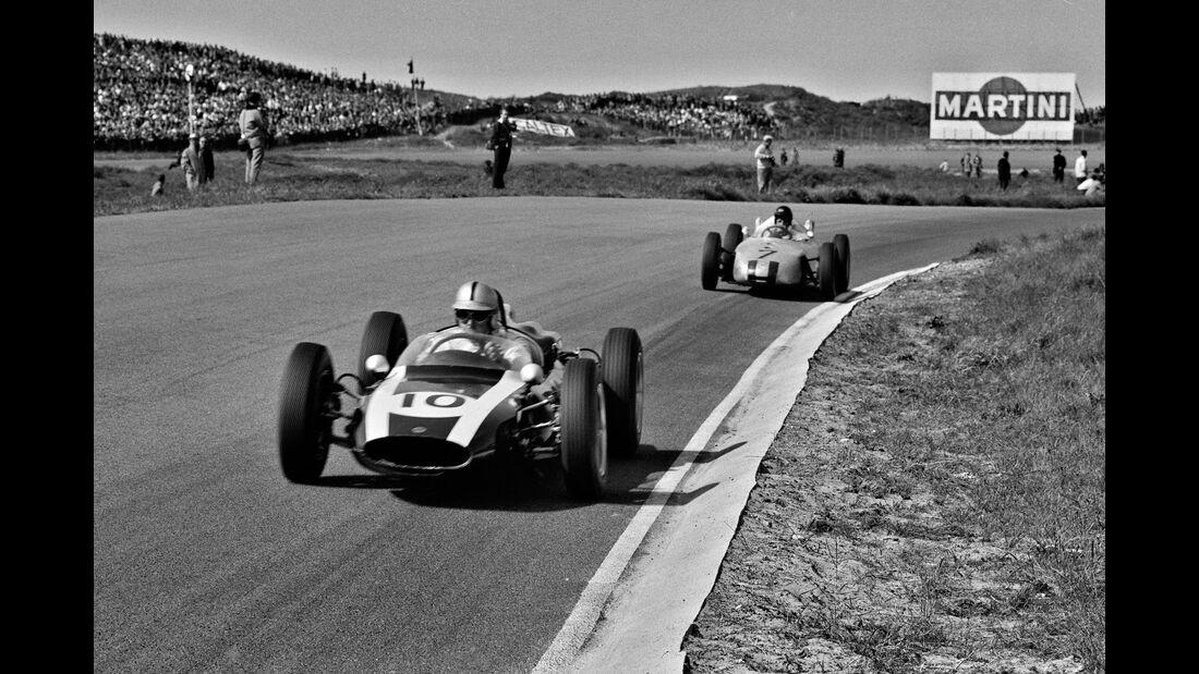 Jack Brabham - Dan Gurney - GP Niederlande 1961 - Zandvoort