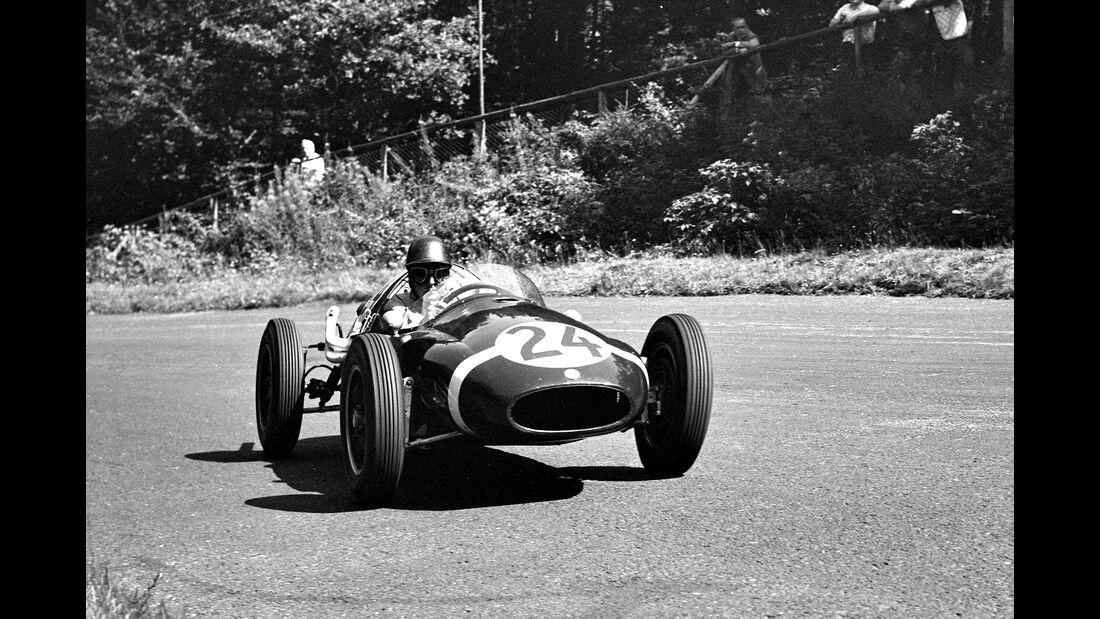 Jack Brabham - F1 GP Deutschland 1957 - Nürburgring