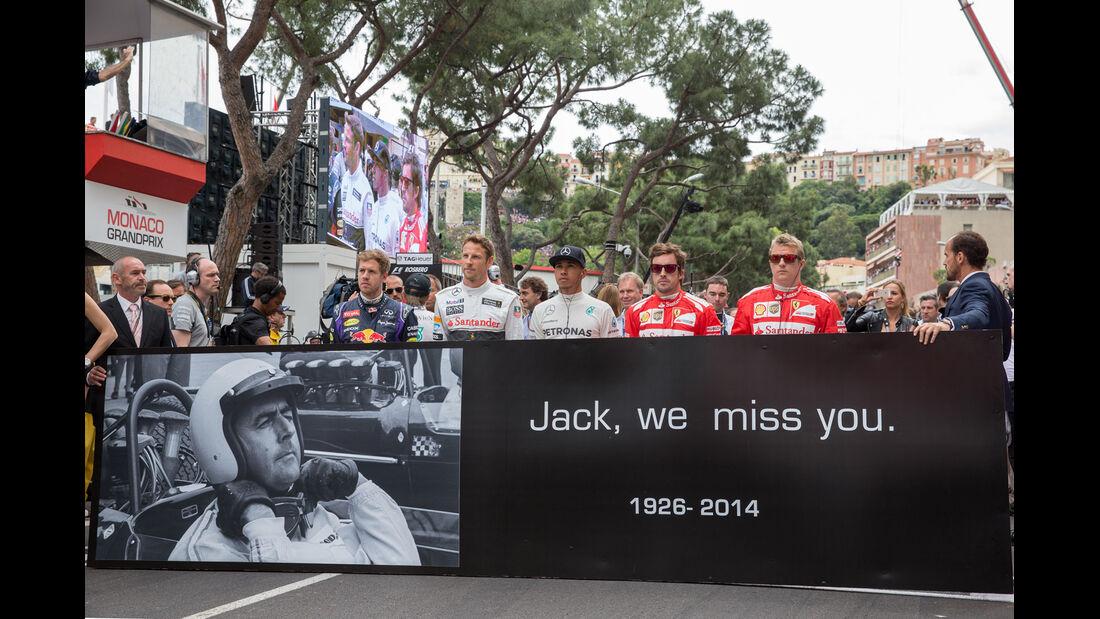 Jack Brabham - GP Monaco 2014 - Formel 1 - Tops & Flops