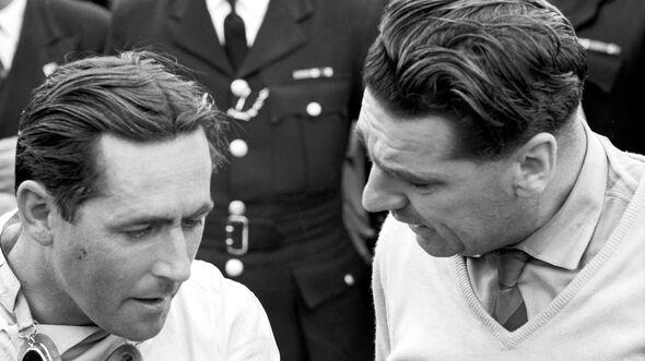 Jack Brabham - John Cooper - GP England 1960 - Silverstone
