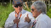 Jackie Stewart & Bernie Ecclestone - Danis Bilderkiste - Formel 1 - GP Bahrain 2015
