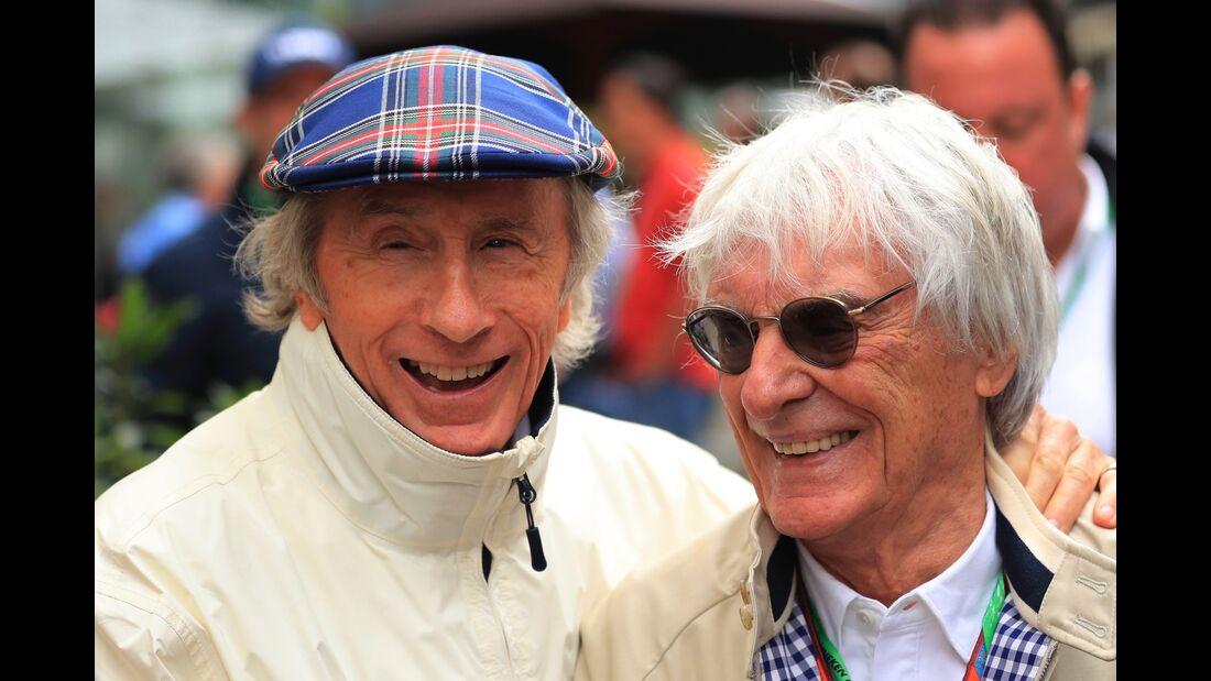 Jackie Stewart - Bernie Ecclestone - Formel 1 - GP Brasilien - 11. November 2017