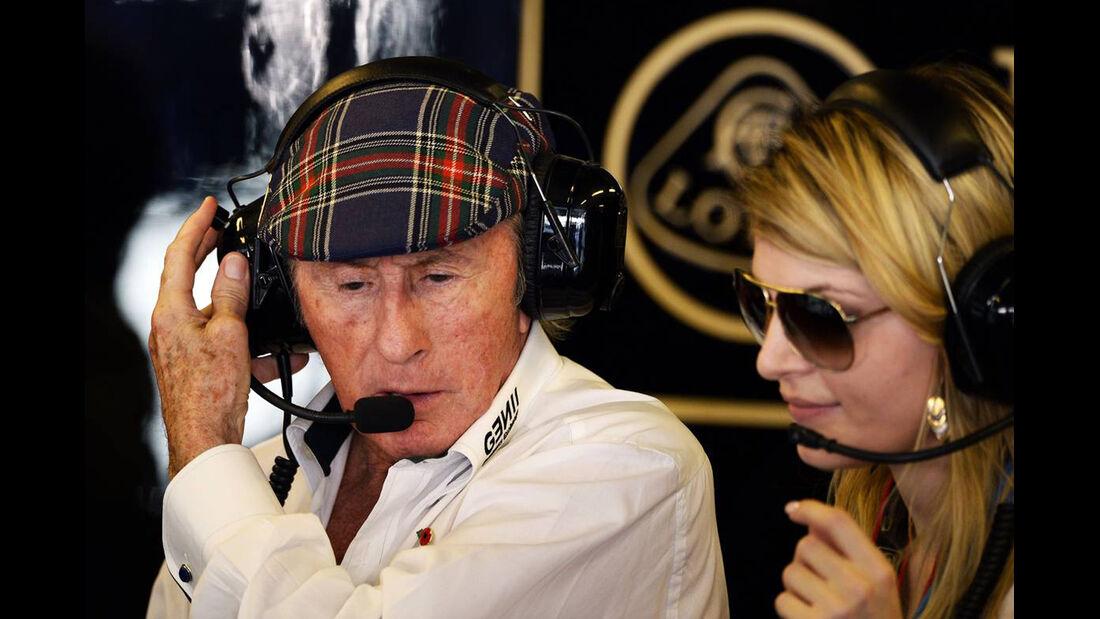 Jackie Stewart - Formel 1 - GP Abu Dhabi - 02. November 2013