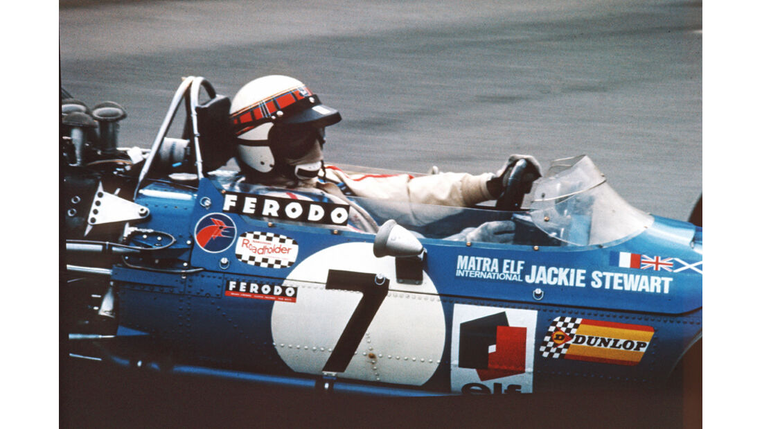 Jackie Stewart GP Belgien 1968