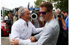 Jackie Stewart & Sebastian Vettel - Formel 1 - GP Australien - 14. März 2013