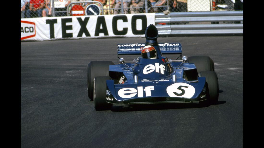 Jackie Stewart - Tyrrell 006 - GP Monaco 1973