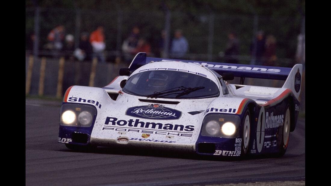 Jacky Ickx 1985 962 Turbo