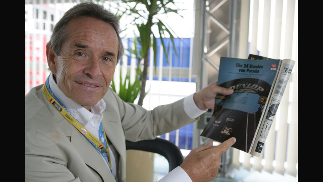 Jacky Ickx 2011 GP Belgien