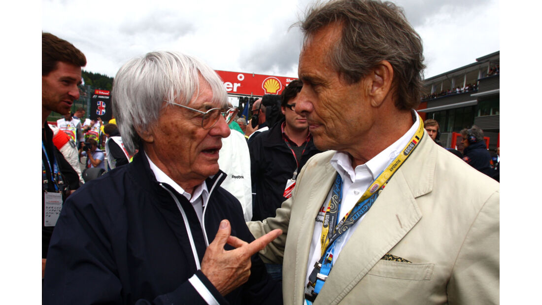 Jacky Ickx Bernie Ecclestone