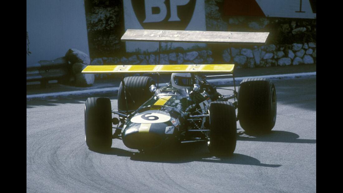Jacky Ickx Brabham-Ford Monaco 1968