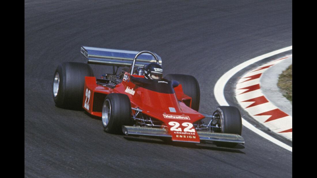 Jacky Ickx Ensign-Ford Zandvoort GP Holland 1976